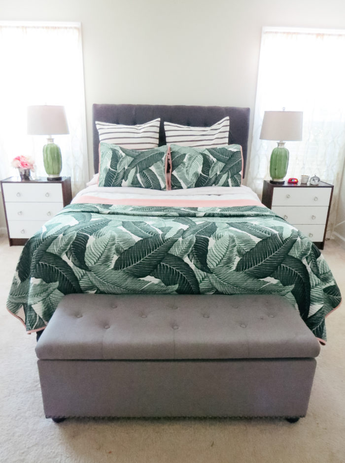 Target Banana Leaf Bedding Refresh Carla Bethany