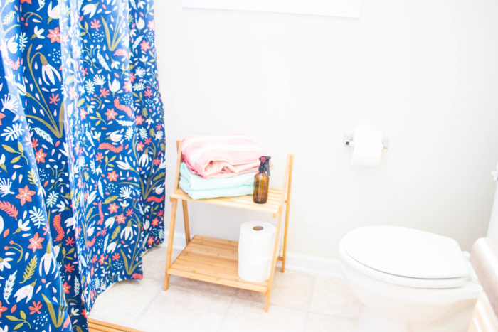 Guest bathroom rental-friendly refresh